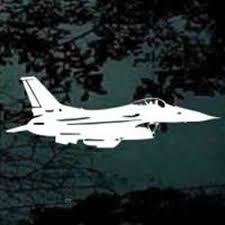 F22 Raptor Silhouette Decals Stickers Decal Junky