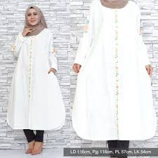 Jual Iva Long Tunik Big Size LD 116 CM | Jumbo Indonesia