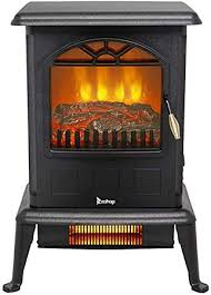 homvent portable electric fireplace