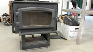 drolet wood burning stove complete with