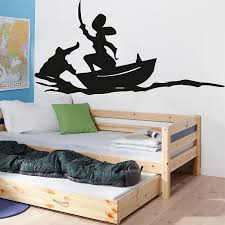 Cartoon Wall Decal Pirates Ship Hook Wall Sticker For Kids Room Bedroom Decor Vinyl Nursery Decoration Poster X092 Wall Stickers Aliexpress