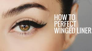 how to perfect winged eyeliner 8