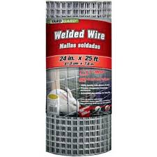 Shop Yard Gard 309312a 24 Inches X 25 Feet 1 Inch Mesh Galvanized Welded Mesh Fence Overstock 12429120