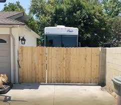Chain Link Fencing Orange County Santa Ana Anaheim Ca Wrought Iron Wood Fences And Gates