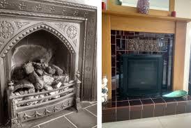 cast iron fireplace advantage of a