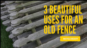 3 Beautiful Uses For An Old Fence Recycle Home Decor Youtube