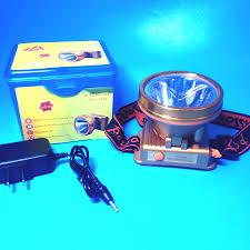 Đèn sạc pin đội đầu siêu sáng 1606-80W (ánh sáng vàng) - Đèn sạc Thương  hiệu OEM