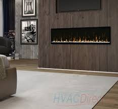 gas fireplace to an electric fireplace