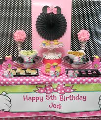 minnie mouse birthday party abug