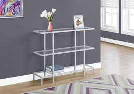 tempered glass accent table