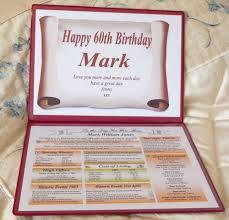 folder unusual 60th birthday gift skvus hr