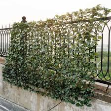 Costway 59 In X 95 In Faux Ivy Leaf Garden Decorative Fence Artificial Hedge Fencing Gt3049 The Home Depot
