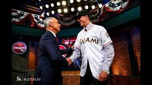 Marlins draft LHP Trevor Rogers in first round