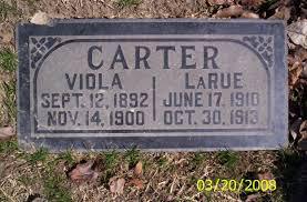 Viola Polly Carter (1892-1900) - Find A Grave Memorial
