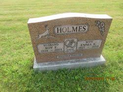 Roy F Holmes (1928-2003) - Find A Grave Memorial