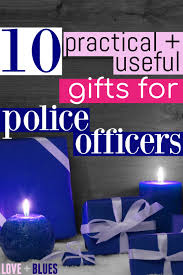 gifts for cops police officers