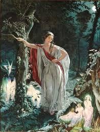 Pin by Gracie West on Art Woman Goddess 10 | Midsummer nights dream, Fairy  art, A midsummer night's dream