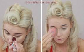 1940s inspired makeup tutorial