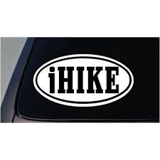 I Hike Sticker Scout Hiking Hunt Car Decal Window Laptop 6 C375 Walmart Com Walmart Com