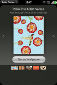 palm drops artist series wallpaper app