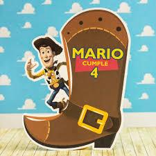 Invitaciones Cumpleanos Toy Story Forma Woody Y Bota 8 50 En