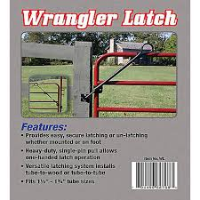 Tarter Wrangler Latch Wl At Tractor Supply Co