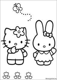 Hello Kitty Kleurplaten Kleurplaten Eu