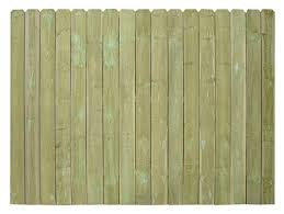 6 X 8 Pressure Treated Dog Ear Fence Panel At Menards