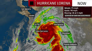 Hurricane Lorena Bearing Down on Cabo San Lucas - Videos from The Weather  Channel