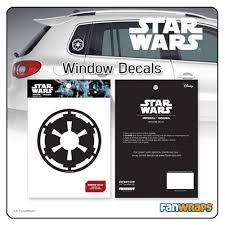 Star Wars Imperial Insignia Window Decal Entertainment Earth