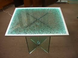 replace a broken glass coffee table