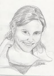 Portrait Drawing by Callie Smith
