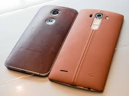 this is the lg g4 in leather