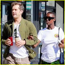 Joshua Jackson & Jodie Turner-Smith Keep Close During Lunch Date ...