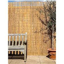 13ft 1in X 3ft 3in Artificial Bamboo Cane Plastic Garden Fence Screening Roll Privacy Border Wind Sun Protection 4 0 X 1 0m By Papillon