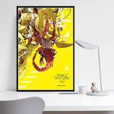 P092 Digimon Adventure Tri Movie Anime Series Hot Art Painting Silk Canvas Poster Wall Home Decor Indian Home Decor Inexpensive Home Furnishings From Qiananclothings 16 71 Dhgate Com