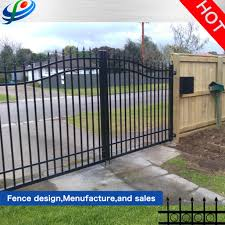 China Gates Design Wrought Iron Gate Beautiful Steel Fence Gate Photos Pictures Made In China Com
