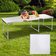 game portable aluminum folding table