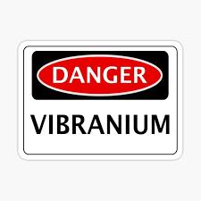 Vibranium Stickers Redbubble