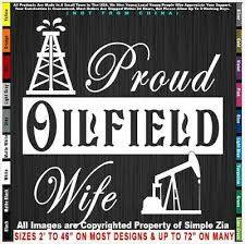Proud Oilfield Wife Jack Frac Rig Life Mafia Roughneck Girl Drill Sticker Decal In 2020 Oilfield Girl Patches Roughneck