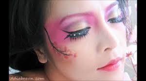 geisha inspired makeup tutorial