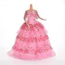 Đẹp Đầm Đầm Bầu Cho Búp Bê Barbie Hồng Handmade Thời Trang Quần Áo ...