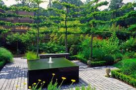 gorgeous landscape fountain design ideas