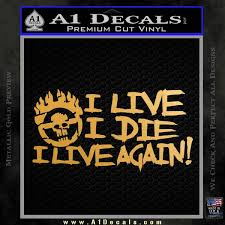 Mad Max Fury Road I Live Again Decal Sticker A1 Decals