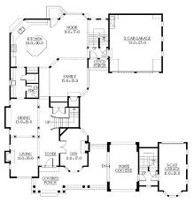 energy saving u shaped modern house