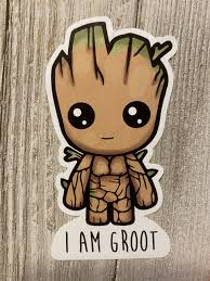 I Am Groot Stickers Iskinwraps