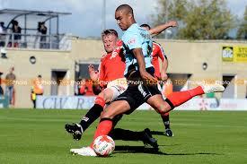 Morecambe vs Cheltenham Town | TGS PHOTO LTD - Editorial Sports Photography