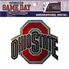 Ohio State Rhinestone Bling Window Decal Sticker Buckeyes University Car Truck 731247348715 Ebay