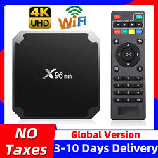 X96 mini X96mini Smart TV BOX Android 7.1 2GB/16GB TVBOX X 96 mini Amlogic  S905W H.265 4K 2.4GHz WiFi Media Player Set Top Box|wifi set top box|smart  tv boxsmart tv box android -