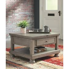 alcott hill fuente coffee table with